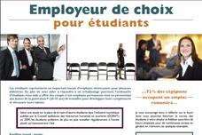 Employeur de choix pour étudiants