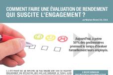 Comment faire une évaluation de rendement qui suscite l'engagement?