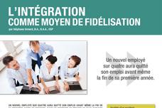 L'intégration comme moyen de fidélisation